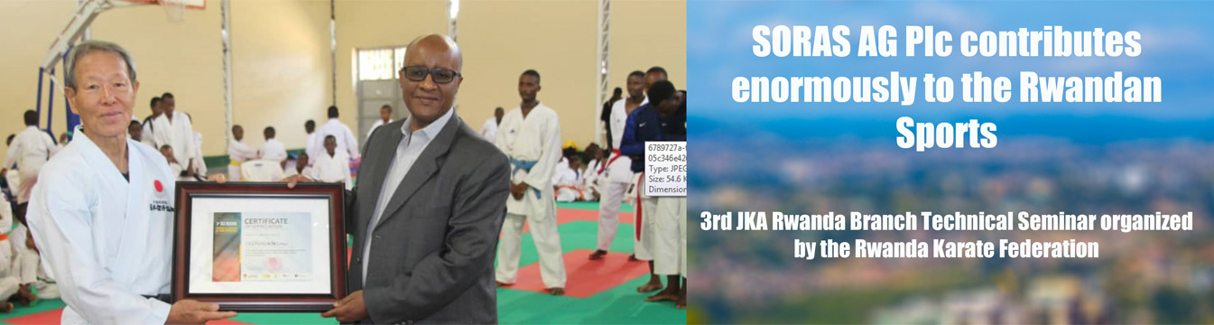 3rd JKA Rwanda Branch Technical Seminar organized by the Rwanda Karate Federation